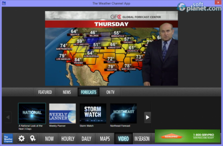 The Weather Channel App Screenshot4
