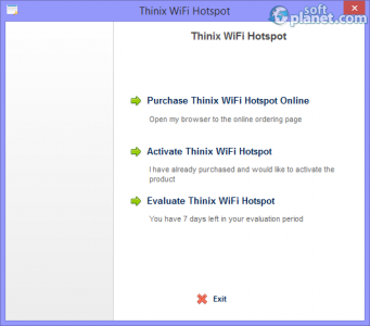 Thinix WiFi Hotspot Screenshot2