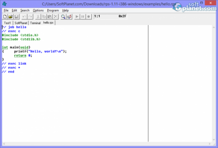 RPS Text Editor Screenshot4