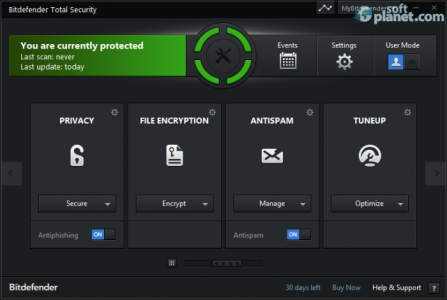 Bitdefender Total Security Screenshot2