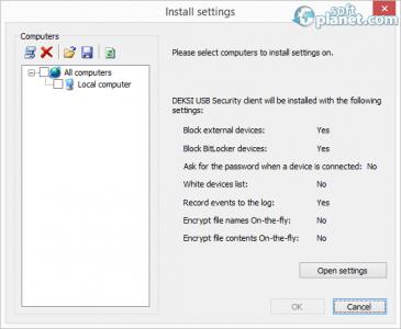 DEKSI USB Security Screenshot3