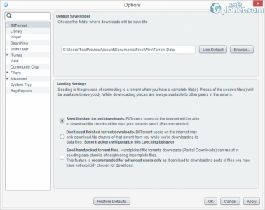 FrostWire Screenshot4