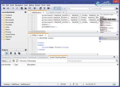 Komodo IDE Screenshot2