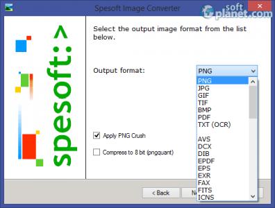 Spesoft Image Converter Screenshot2
