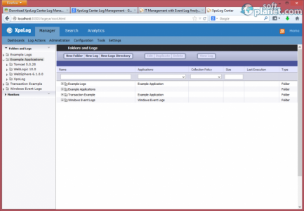 XpoLog Center Log Management Screenshot2