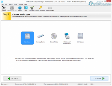 Ontrack EasyRecovery Professional Screenshot2