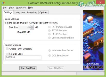 RAMDisk Screenshot2