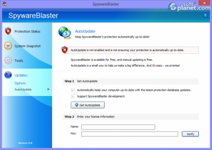 SpywareBlaster Screenshot4