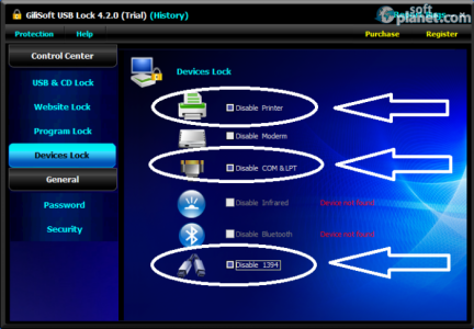 GiliSoft USB Lock Screenshot4
