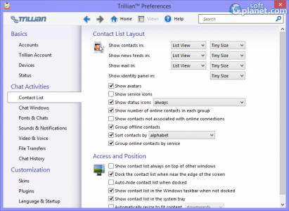 Trillian Screenshot3