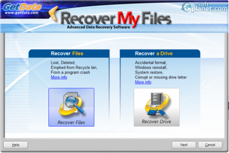 Recover My Files Screenshot2