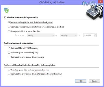 O&O Defrag Professional Edition Screenshot5