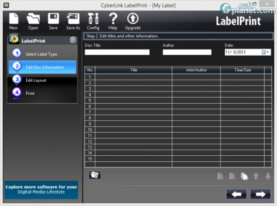 CyberLink LabelPrint Screenshot3