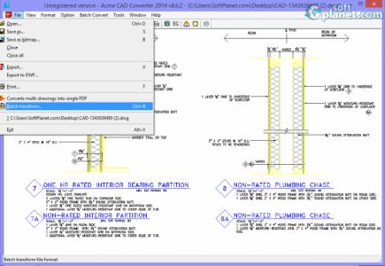 Acme CAD Converter 2014 Screenshot2
