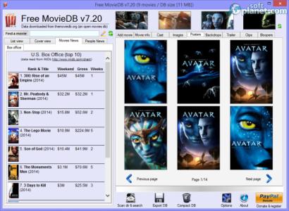 Free MovieDB Screenshot3