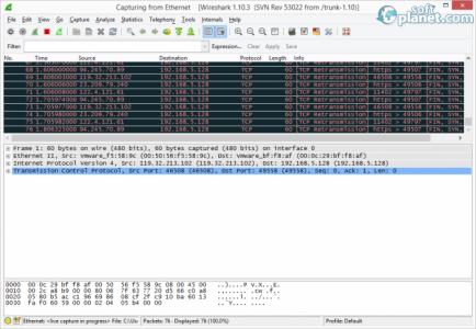 Wireshark Screenshot2