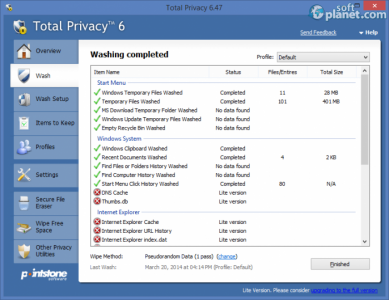 Total Privacy Screenshot2