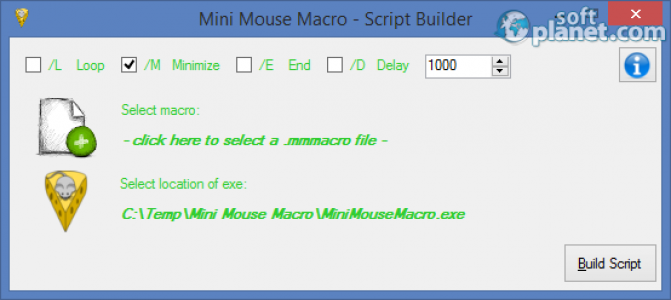 Mini Mouse Macro Screenshot2