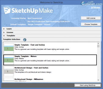 SketchUp Make Screenshot2