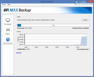 GFI MAX Backup Screenshot3