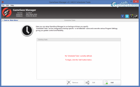GameSave Manager Screenshot2