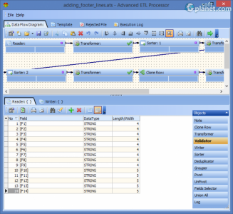 Advanced ETL Processor Screenshot4