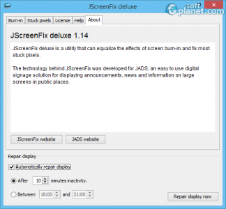 JScreenFix deluxe Screenshot3