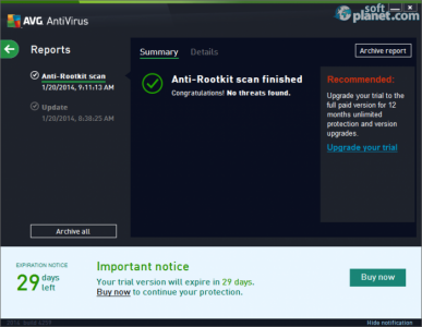 AVG AntiVirus Screenshot4