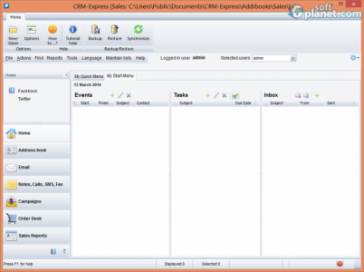 CRM-Express eSales Screenshot3