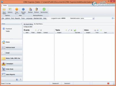 CRM-Express eSales Screenshot3