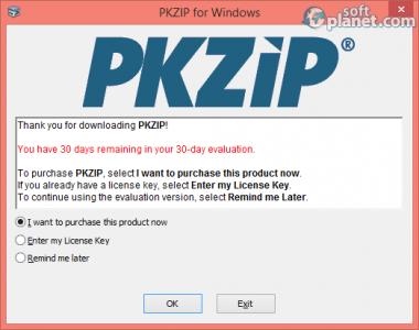 PKZIP Screenshot3