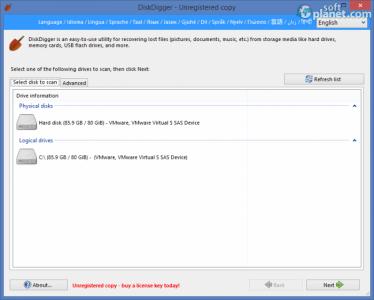 DiskDigger Screenshot2