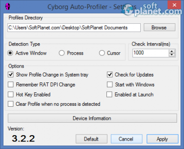 Cyborg Auto-Profiler Screenshot2