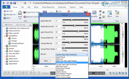 Power Sound Editor Free Screenshot3