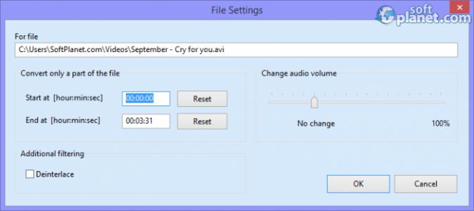 SuperSimple Video Converter Screenshot4