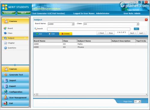 Test Generator Screenshot4