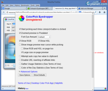 Colorpick Eyedropper Screenshot2