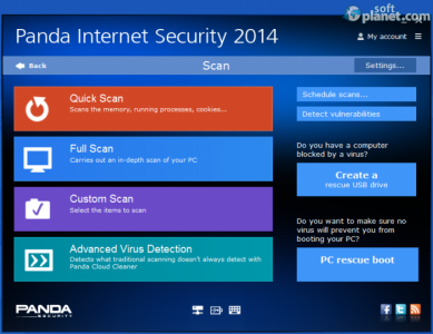 Panda Internet Security Screenshot2