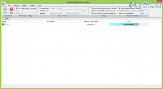 Nsasoft Network Software Inventory Screenshot2