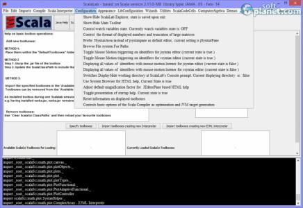 ScalaLab Screenshot4