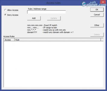 Core FTP Server Screenshot3