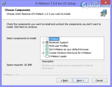 K-Meleon Screenshot4