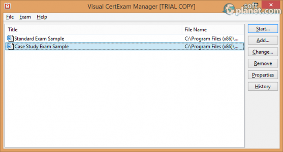 Visual CertExam Suite Screenshot2
