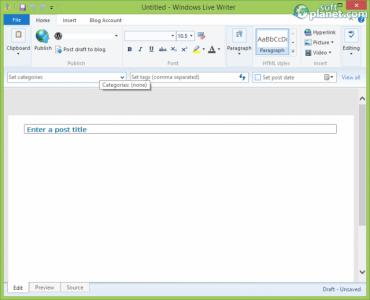 Windows Live Writer 2012 Screenshot2