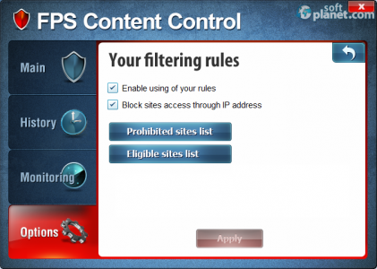 Anti Porno Filter Screenshot3