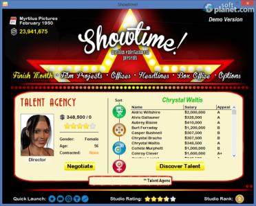 Showtime! Screenshot3