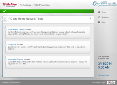 McAfee All Access Screenshot4
