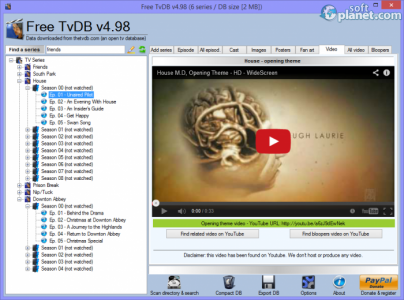 Free TvDB Screenshot4