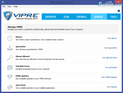 VIPRE Internet Security Screenshot4