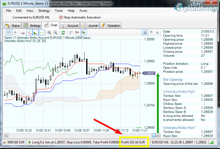 Forex Strategy Builder Screenshot2